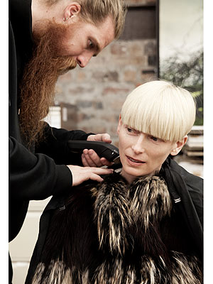 Pringle of Scotland Launches New Campaign with Tilda Swinton