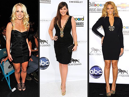 Britney Spears and Beyonce at the Billboard Music Awards