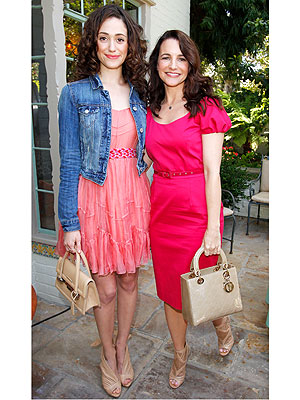 Kristin Davis, Emmy Rossum Bag Lunch Charity