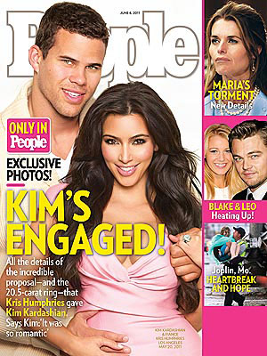 Kim Kardashian Engagement