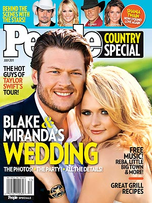 Miranda Lambert Wedding PEOPLE Country