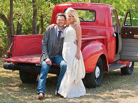 Miranda Lambert's Wedding Gown: Chosen for Good Luck!