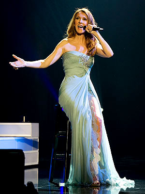 Celine Dion Las Vegas concert costumes