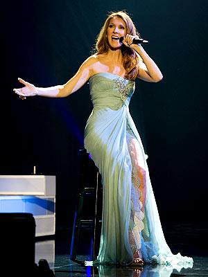 Celine Dion Las Vegas concert costumes
