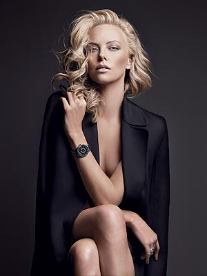 Charlize Theron Dior Watches