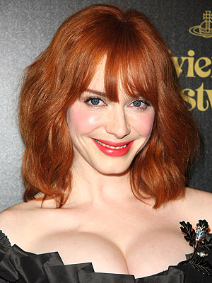 Christina Hendricks is a natural blonde