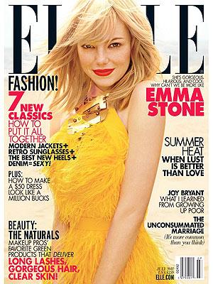 Emma Stone in ELLE