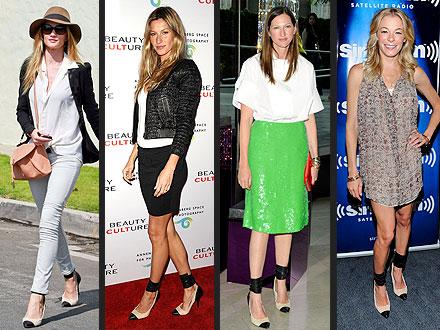 Shoe Style: LeAnn Rimes vs Gisele Bundchen