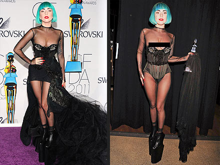 Lady Gaga CFDA Style