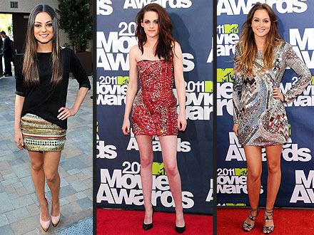 Mila Kunis, Kristen Stewart MTV Movie Awards