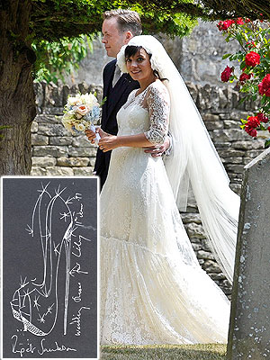 Lily Allen Wedding Shoes
