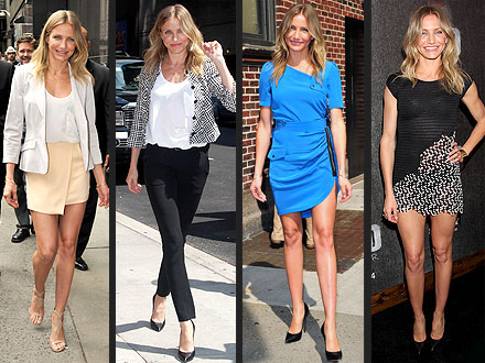 Cameron Diaz Bad Teacher outfit changes