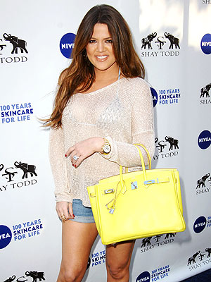 Khloe Kardashian Bikini Ready