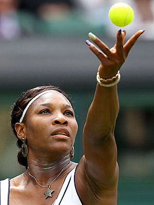 Serena Williams Wimbledon Nails