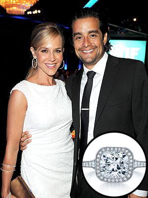 Julie Benz's Engagement Ring