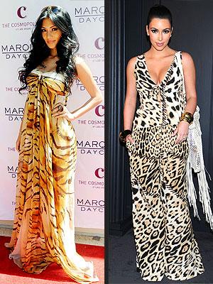 Kim Kardashian, Nicole Scherzinger Style