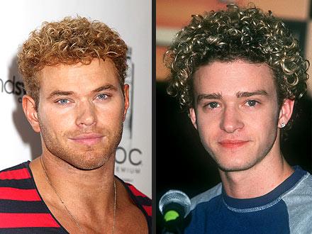 Kellan Lutz, Justin Timberlake Hair
