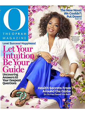 Sofia Vergara in O, The Oprah Magazine