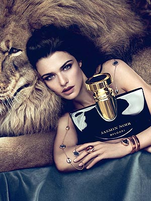 Rachel Weisz for Bulgari Jasmin Noir