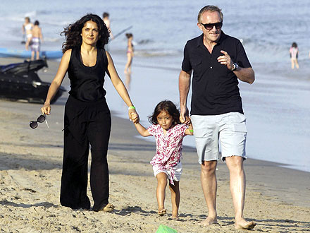 salma hayek breastfeeding an african baby boy. dresses house salma hayek