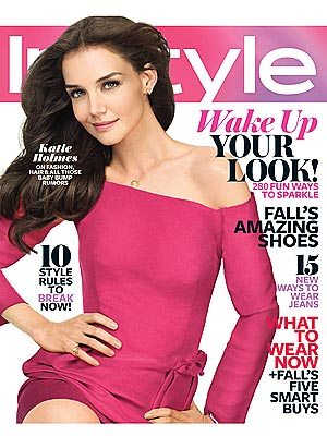 Katie Holmes for InStyle