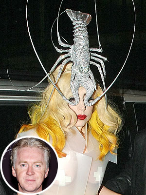Lady Gaga interns with Phillip Treacy