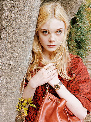 Elle Fanning for Marc Jacobs