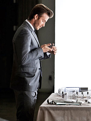 David Beckham second fragrance
