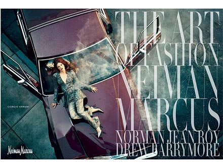 Drew Barrymore Neiman Marcus