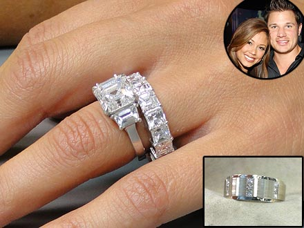 Nick Lachey, Vanessa Minnillo Wedding Rings