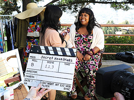 Amber Riley for Mean Stinks