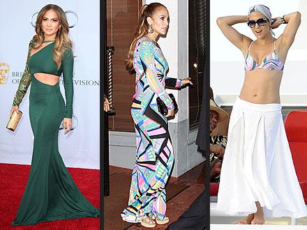 Jennifer Lopez in Pucci
