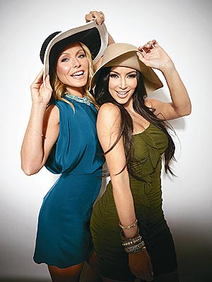 Kim Kardashian, Kelly Ripa for Super Saturday