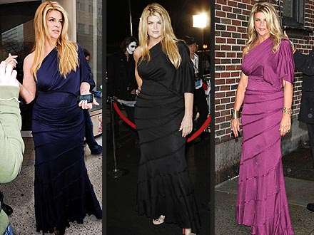 Kirstie Alley Weight Loss and Dresses