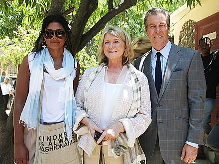 Martha Stewart, Rachel Roy in Haiti