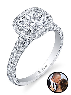 Bachelorette Ashley Hebert Engagement Ring