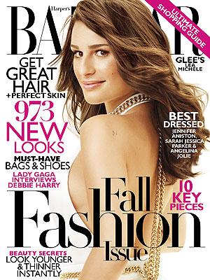 Lea Michele Harper's Bazaar