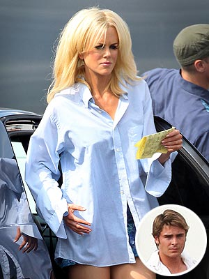 Zac Efron, Nicole Kidman Blonde for The Paperboy