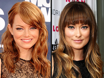 Emma Stone and Olivia Wilde are the faces of Revlon