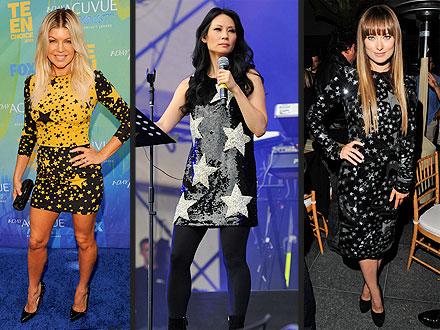 Stars in Dolce & Gabbana Dresses