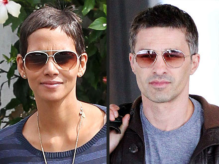 Halle Berry and Olivier Martinez's hair