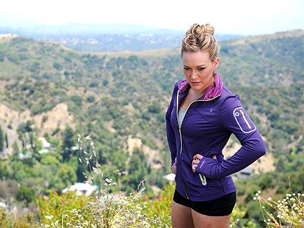 Hilary Duff for Danskin