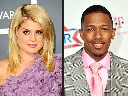 Kelly Osbourne and Nick Cannon for Macy's