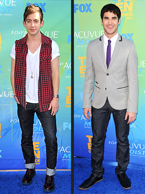Glee Guys at Teen Choice Awards