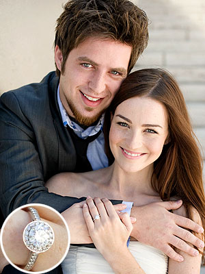 Lee DeWyze Engagement Ring