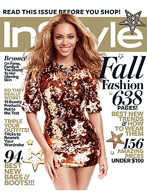 Beyonce in InStyle