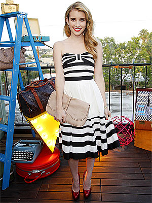 Emma Roberts for Kate Spade