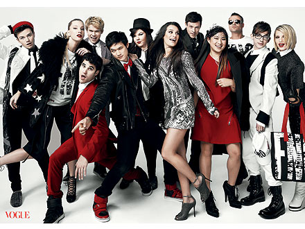 Glee Cast in Vogue