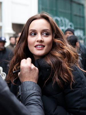 Leighton Meester Vera Wang Lovestruck