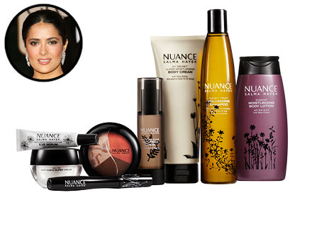 Salma Hayak Beauty Line